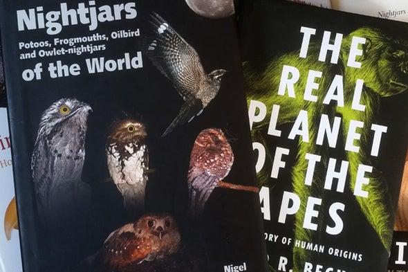 Tet Zoo Bookshelf September 2016: of Fossil Primates and Nightjars