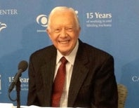 Jimmy Carter Fights to Eliminate Eye Disease That Plagued His Childhood