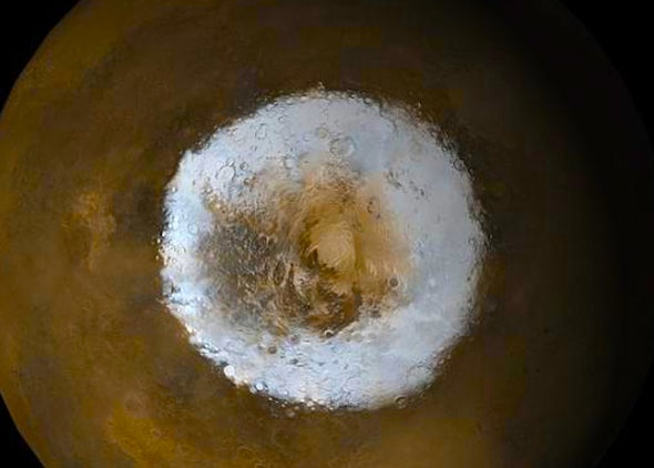 Aerogel Mars