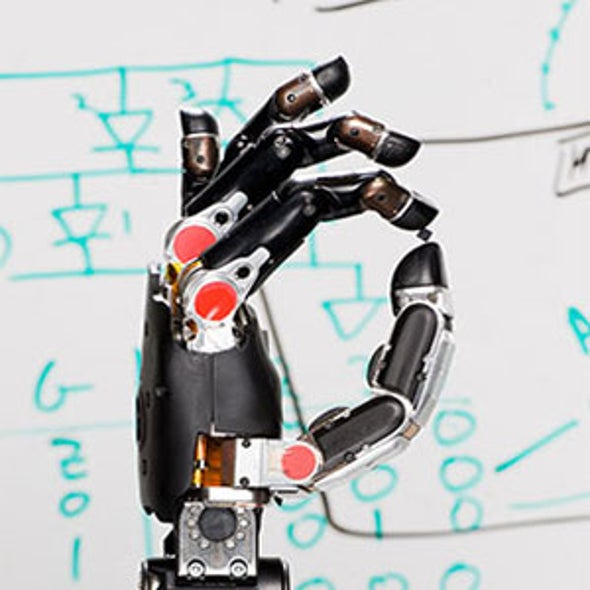 Robotic Limbs Get a Sense of Touch