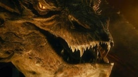Smaug Breathes Fire Like A Bloated Bombardier Beetle With Flinted Teeth