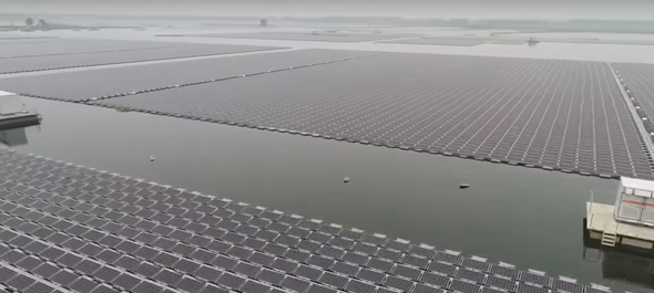 Check Out This Massive Floating Solar Farm in China