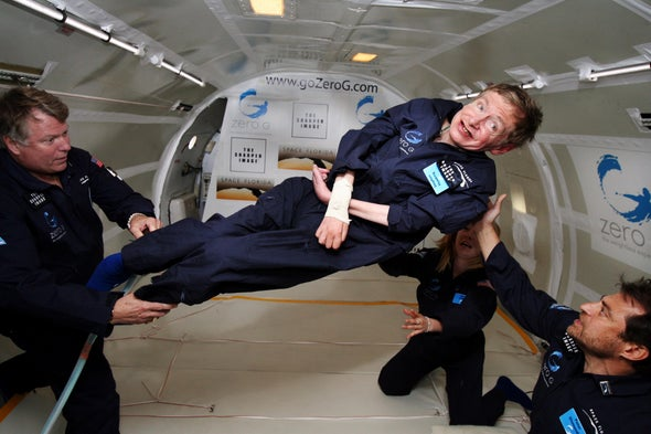 My Alarming, Inspiring Encounter with the Late Stephen Hawking