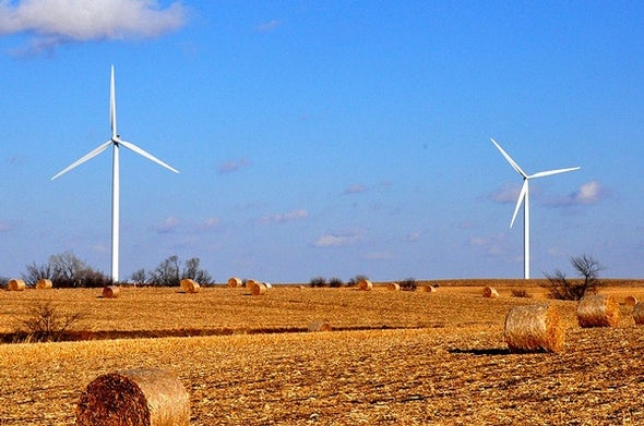 11 States Now Get More Than 10 Percent of Their Electricity from Wind