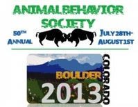A trip to the Animal Behaviour Society conference in Colorado