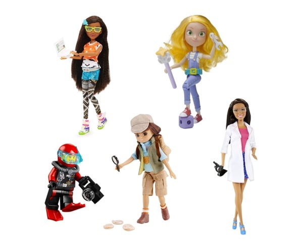 Holiday Gift Guide: Women in STEM Fields Dolls and Action Figures