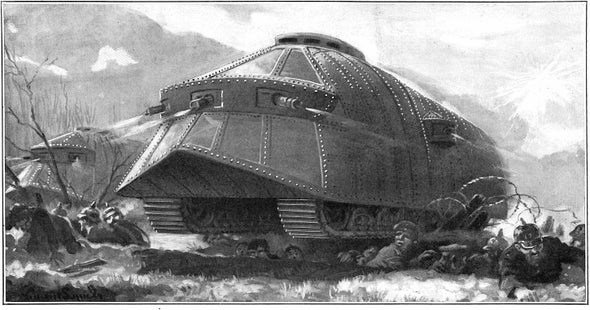 New Technology for 1916: Tanks