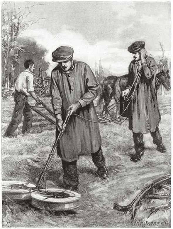 Clearing Explosives, 1915