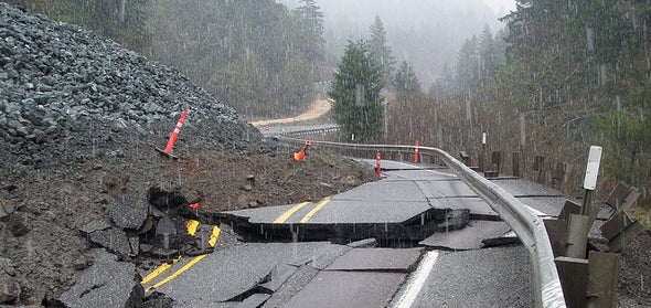Massive Storms Lead to Elevated Landslide Hazards for the West Coast