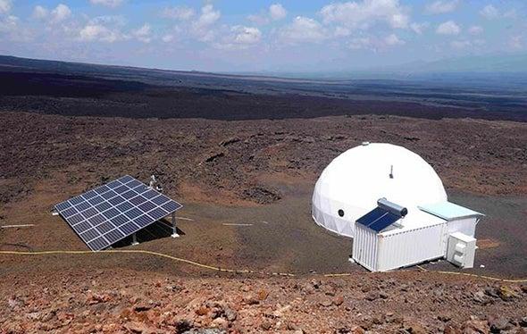 To Mars via Hawaii