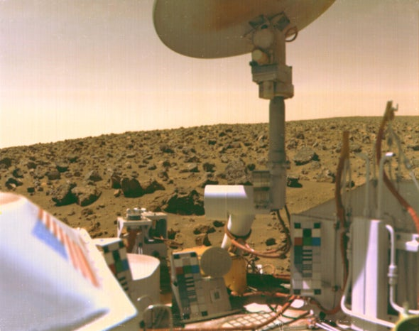 I'm Convinced We Found Evidence of Life on Mars in the 1970s