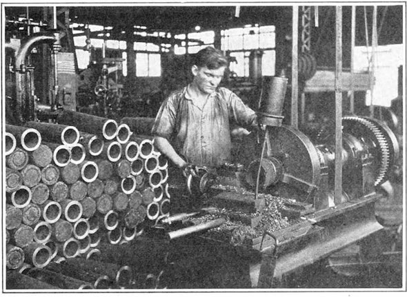 War of the (Manufacturing) Machines, 1916