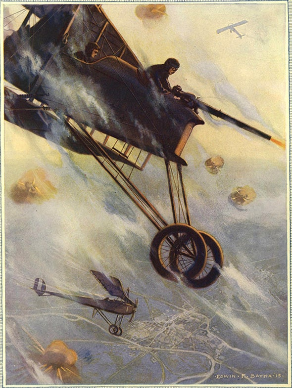 Aircraft Design Ahead of its Time, 1915