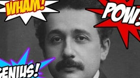 The Perfect Marriage: Einstein and...Comics?