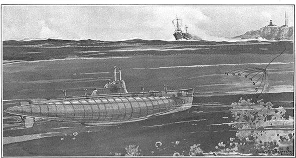 Electronics Fight Submarines, 1915