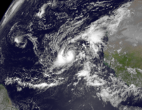 Hurricane Humberto Ties Atlantic Record