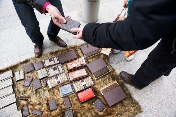A High-Tech Solution for Rooting Out Counterfeit Goods