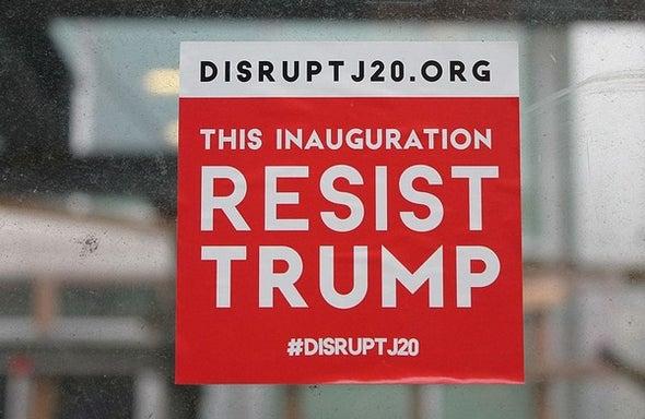 Dear Anti-Trump Protestors, Please Renounce Violence