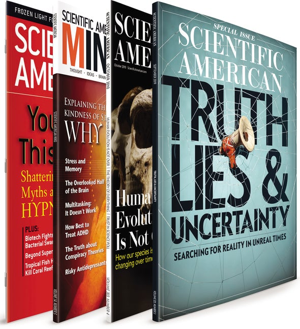 Science Communication: Truth, Lies and Uncertainty