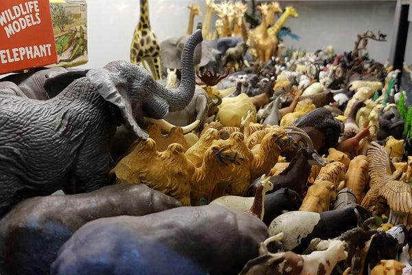 Lifelike Animal Model Mini Elephant Figure Science Nature Educational Toy