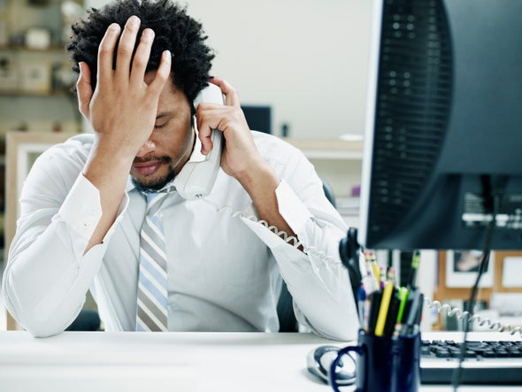 Workers Are Afraid to Take a Mental Health Day