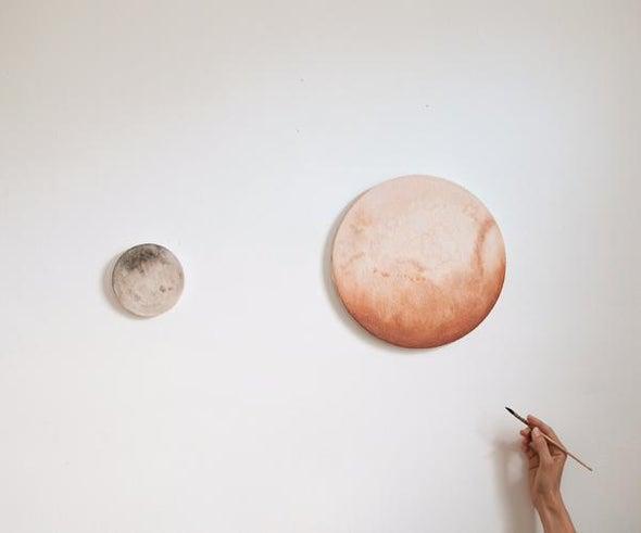 Pluto Flyby Already Inspiring Artists