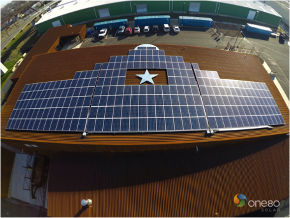 Turning Utility into Texas-Size Solar Art