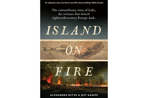 Island on Fire: A Book That Will Satisfy Some of Your Geology of Explodey Islands Cravings
