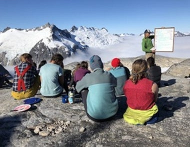 Studying Climate Change in One of the Grandest Classrooms in the World