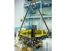 Golden Eye: Webb Telescope's Giant Mirror Unveiled