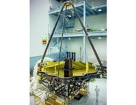 Golden Eye: Webb Telescope's Giant Mirror Unveiled