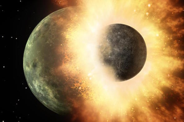 A New Theory of How the Moon Formed
