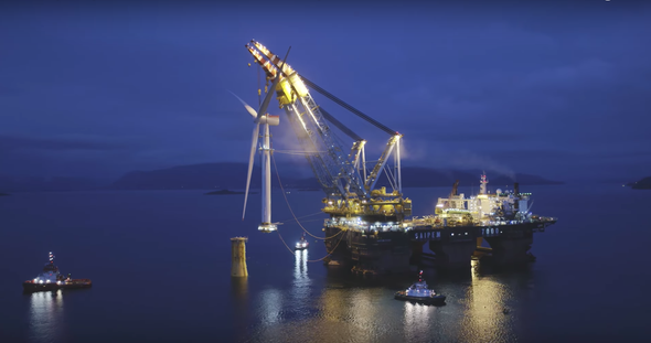 Scotland is Now Getting Electricity from the World's First Floating Wind Farm