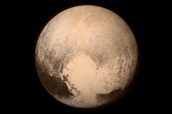 At Pluto, the End of a Beginning