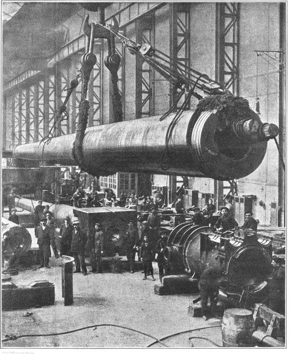 Building the Big Guns, 1916
