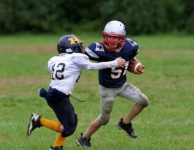 Kids Sustain 240 Head Hits on Average During Football Season