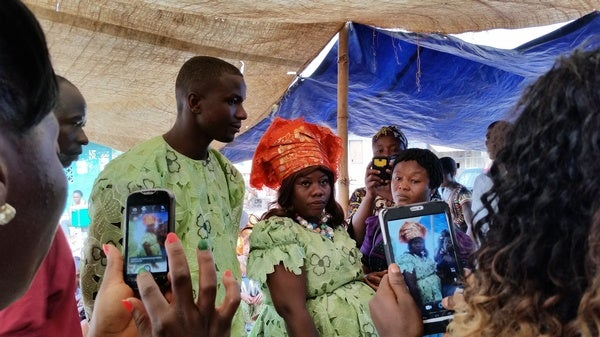 A Woman Survives Ebola but Not Pregnancy in Africa