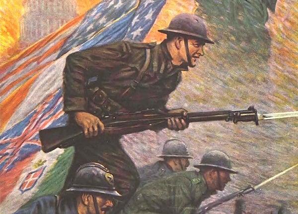 America Declares War on Germany, 1917