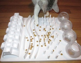 How to Enrich Cats' Lives: Food Puzzles for Cats