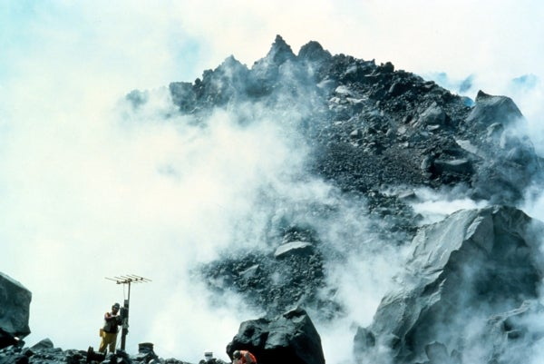 The Once Dormant Mount St. Helens Shakes Again