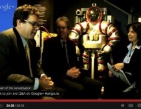 Google Science Fair Hangout On Air: Meet the Deep-Sea-Diving Exosuit