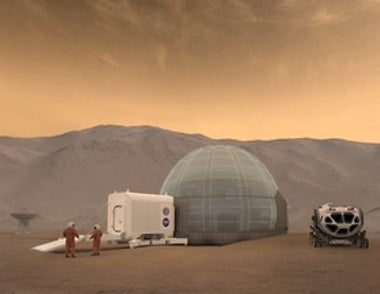 Microbes Might Be Key to a Mars Mission