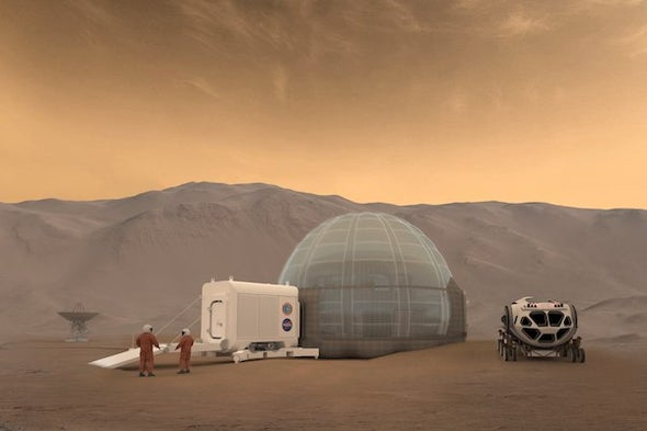 Microbes Might Be the Key to a Mars Mission