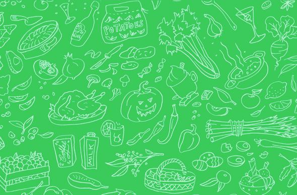 Visualizing the Rhythm of Food