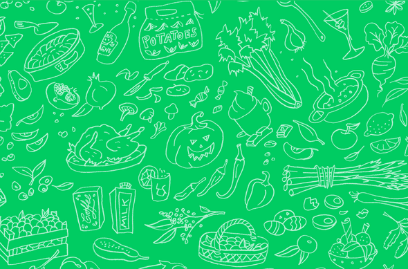 Visualizing the Rhythm of Food