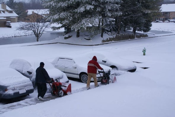 Is There a Social Code for Snow Removal?