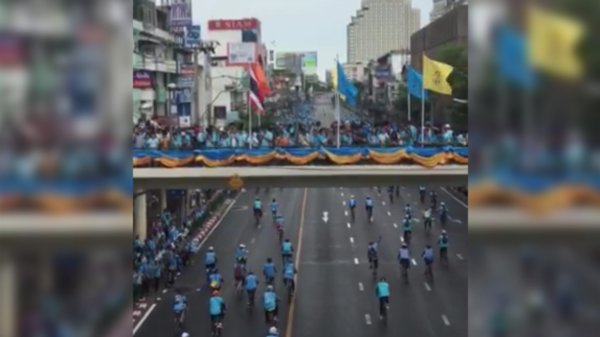 Thailand Breaks World Record for Mass Cycling Event
