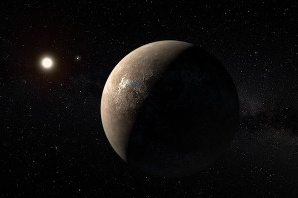 Escape from Proxima b