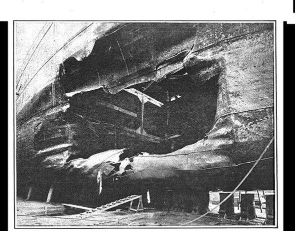 Fate of Torpedoed Ships, 1915