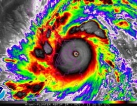 Was Typhoon Haiyan a Record Storm?